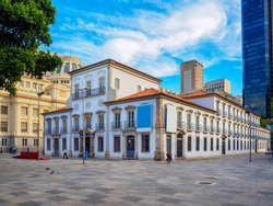 The Paco Imperial  (Imperial Palace) previously known as the Royal Palace of Rio de Janeiro and Palace of the Viceroys, is a historic building in the center of the city of Rio de Janeiro, Brazil.