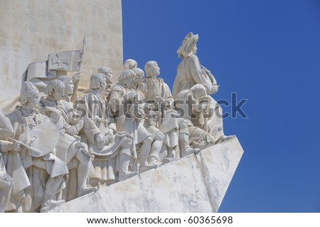 The Padrao dos Descobrimentos (Monument to the Discoveries). It is located in the Belem district of Lisbon, Portugal