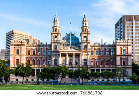 The Palace of Justice on Church Square, Pretoria, South Africa