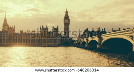 the palace of westminster and...