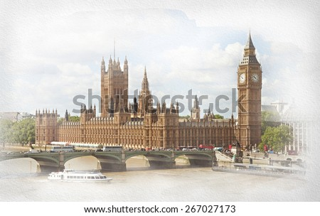 the palace of westminster ...