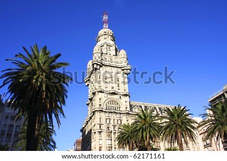 The Palacio Salvo in Montevideo, Uruguay.