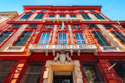 The Palazzo Brignole Sale or Rosso Palace is a house museum located in Via Garibaldi in Genoa city, Italy