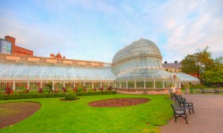 The Palm House At The Botanic Gardens - Belfast, Ireland