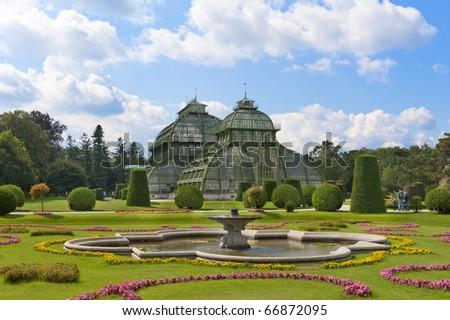 """The """"Palmenhaus"""" at palace Schoenbrunn, Vienna Austria"""