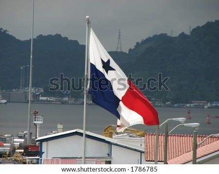 Panama+canal+zone+flag