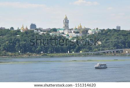 The panorama of Kiev-city, Ukraine