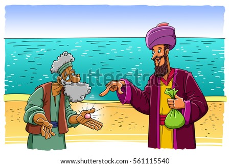 The parable of the merchant who bought the pearl