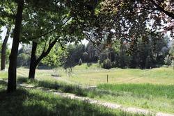 The parc du vallon in the La Duchère district - City of Lyon - Rhône department - France