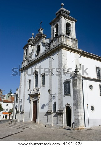 The Parish Church of Oeiras, near Lisbon built in the 18th century