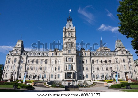 The Parliament building in Quebec City, Canada # 3