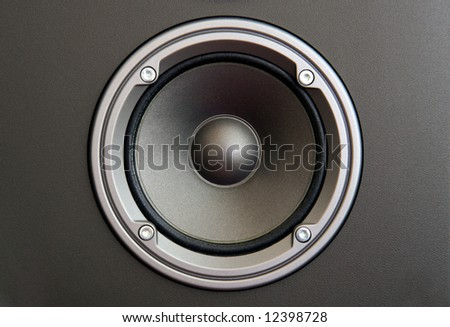 The part of hi-end acoustic system with middle frequency speaker