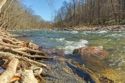 The Patapsco river in Maryland.