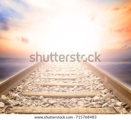 Stock Photo The path of the truth of Christ Jesus