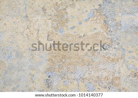 the patterns on vintage floor #1014140377