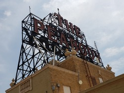 The Peabody Sign - Downtown Memphis