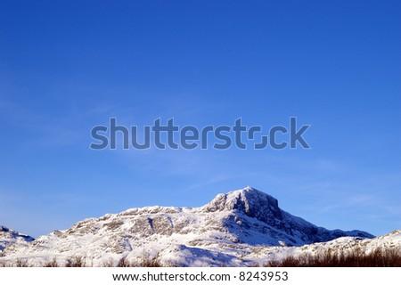 The peak Bitihorn in Jotunheimen in Norway