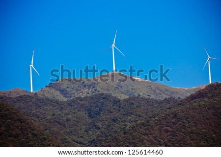 The peak power generation windmill