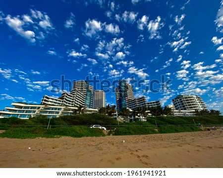 The Pearls of Umhlanga residential and hotel building in Umhlanga Rocks North in Kwazulu Natal. Stock photo ©