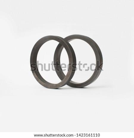 the peek material wear ring #1423161110