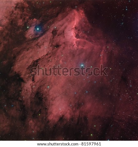 The Pelican Nebula IC 5070