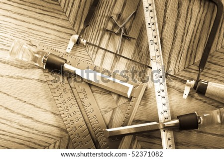 The Perfect Bird House ( Carpentry Concept ) - stock photo
