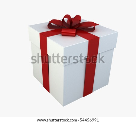The Perfect Box - Photo Realistic Textures on ribbon and box