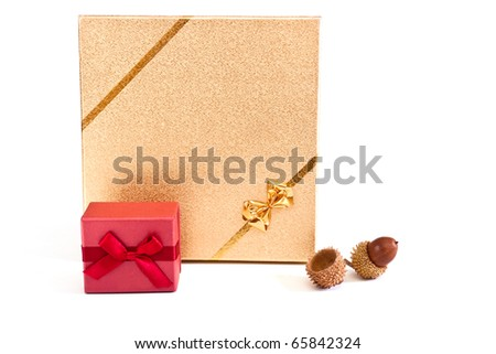 the perfect gift on a white background