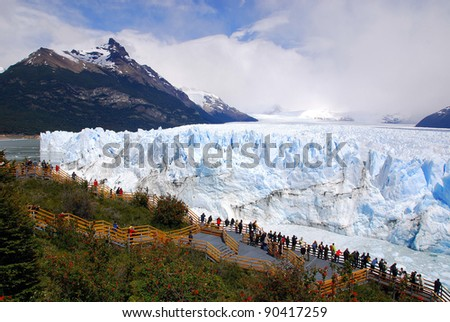 Shutterstock The Perito Moreno Glacier is a glacier located in the Los Glaciares National Park in the Santa Cruz province, Argentina. It is one of the most important tourist attractions in the Argentine Patagonia