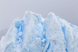 The Perito Moreno Glacier view. It is is a glacier located in the Los Glaciares National Park in Patagonia, Argentina.