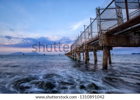 The Pertamina Jetty is a name suggest, a jetty for the Pertamina oil storage terminal in Dili, Timor Leste.  #1310891042