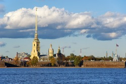 The Peter and Paul Fortress St. Petersburg Russia