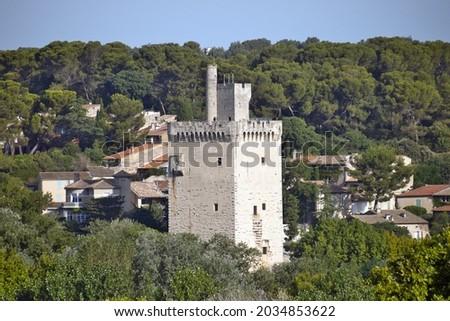 the Philippe-le-Bel Tower near the Rhône Stock fotó ©