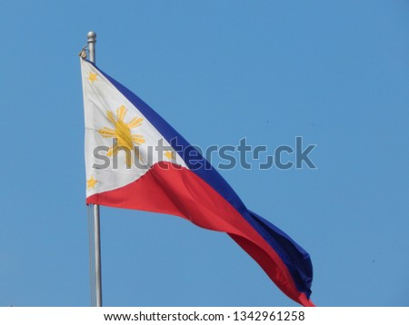 The Philippine Flag #1342961258