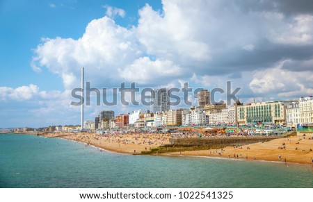 The photo of Brighton, Sussex UK