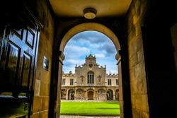 the photo of university of Cambridge