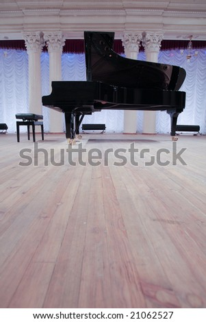 The piano is a musical instrument, Royal or Fortepiano.