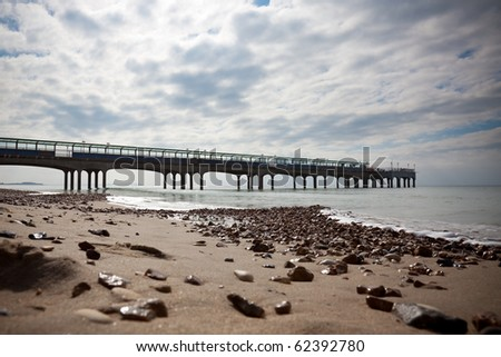 the Pier in Boscombe, Dorset, England, Boscombe is a suburb of the much larger Bournemouth