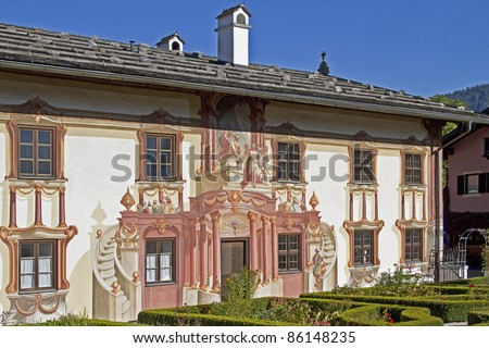 The Pilatus House in Oberammergau