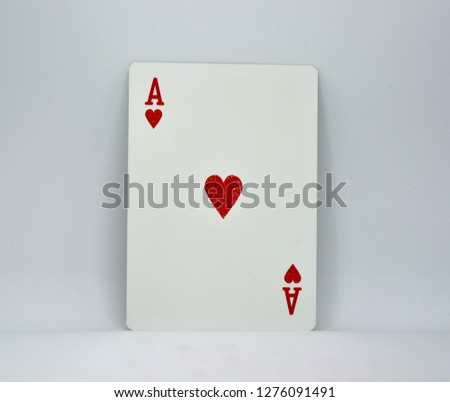 The pile of cards #1276091491