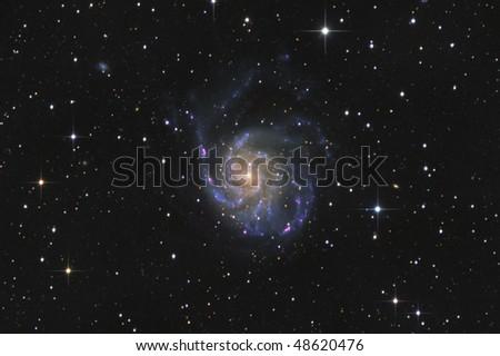 The Pinwheel Galaxy Messier 101