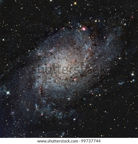 The Pinwheel or Triangulum Galaxy