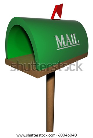 The place for the letter