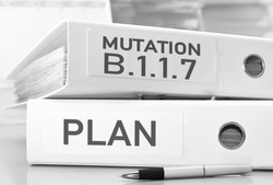 the plan for the coronavirus variant B.1.1.7 - ring folders