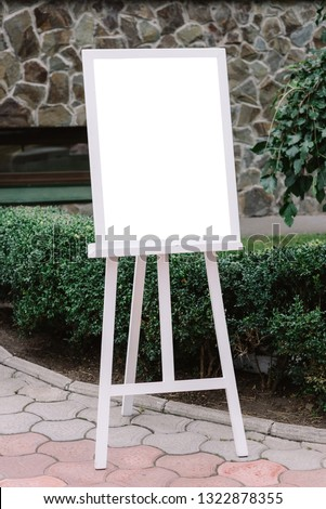 The plan of seating of guests at a wedding #1322878355