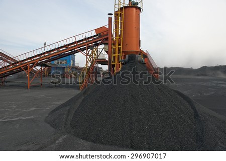 The plant to callibrate fraction piece transport mine minerals digging shipping to walk mine