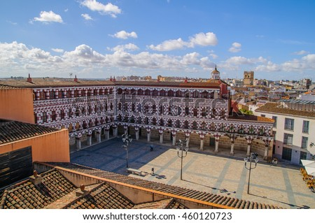 """The Plaza Alta de Badajoz (Spain) was for centuries the center of the city since it exceeded the limits of the Muslim citadel. It was formerly known as public plaza or simply """"the square""""."""
