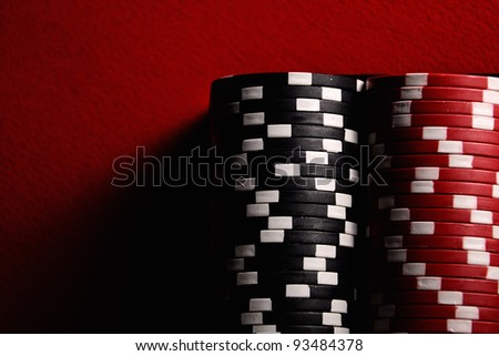 The poker table