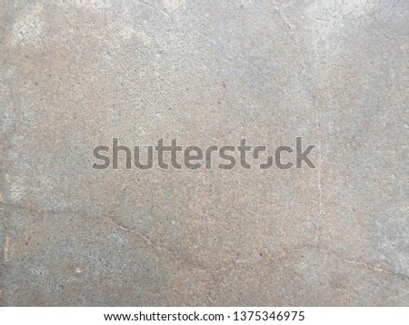 The polished concrete surface is smooth and smooth.
