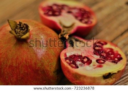 The Pomegranate Cross Section #723236878